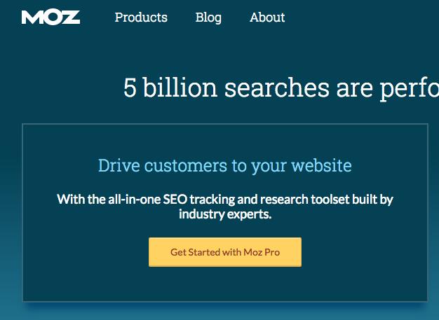 Moz Digital marketing tool