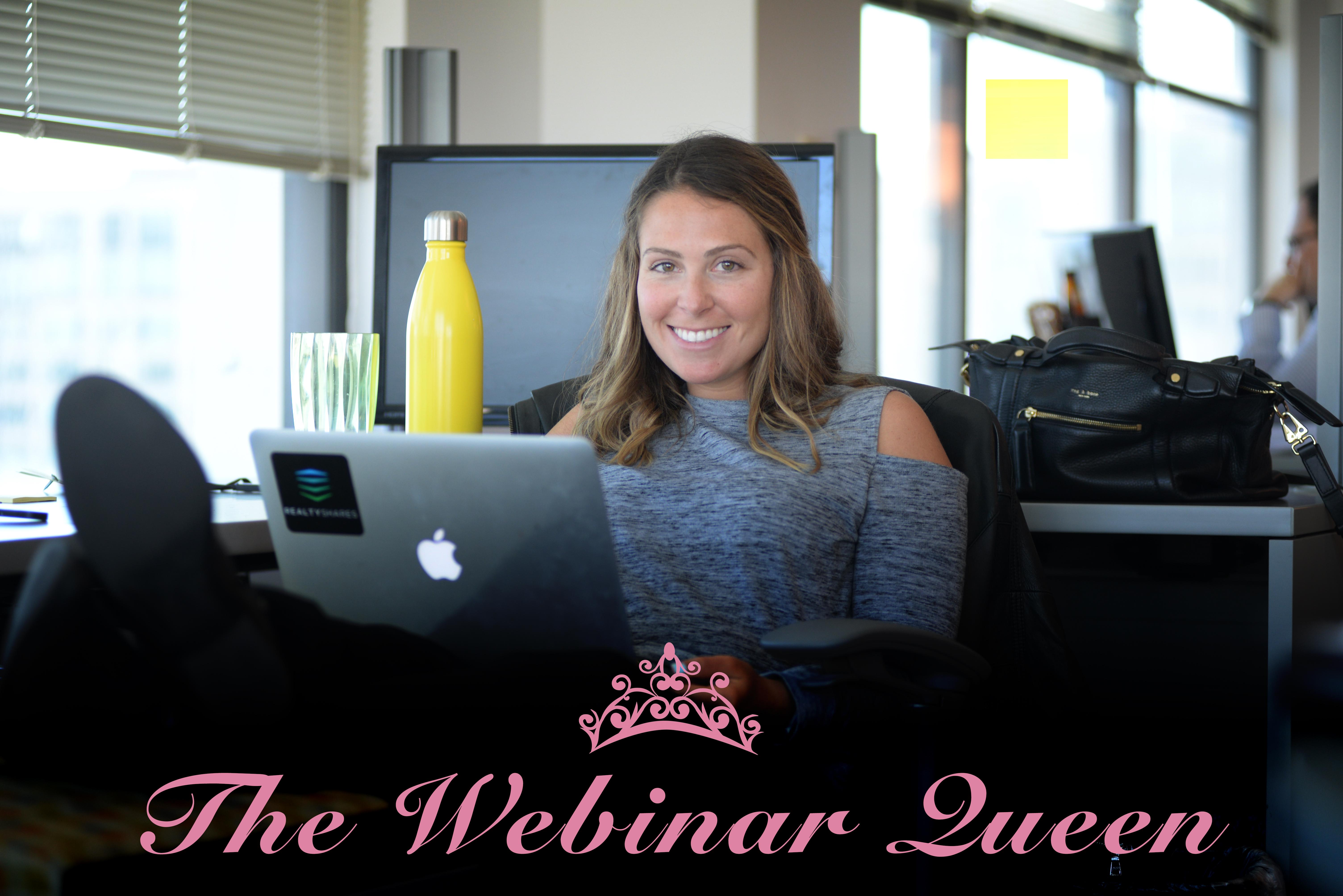 evergreen webinar queen