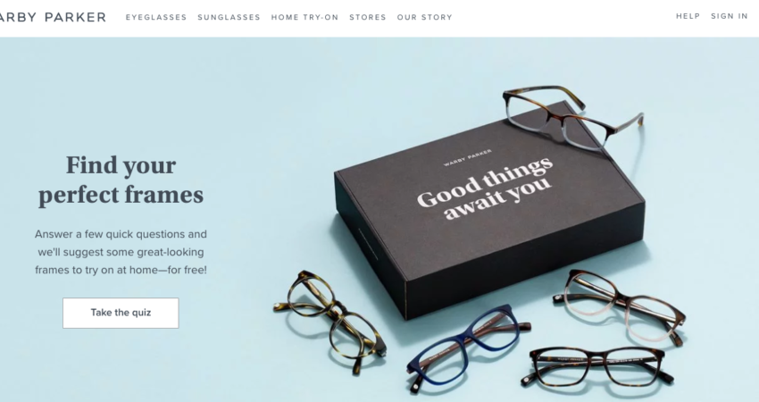 warby parker ecommerce