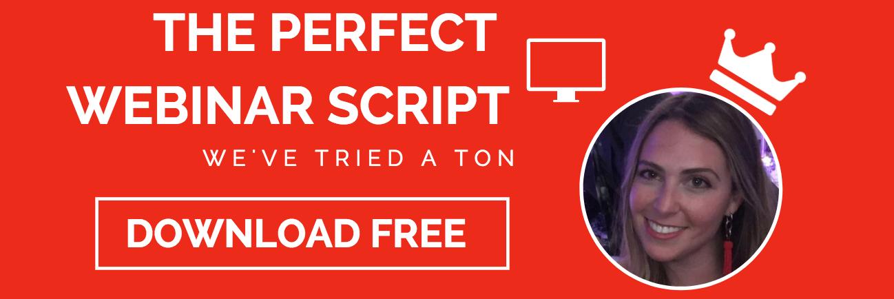 webinar script