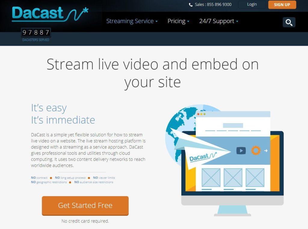 dacast webinar software