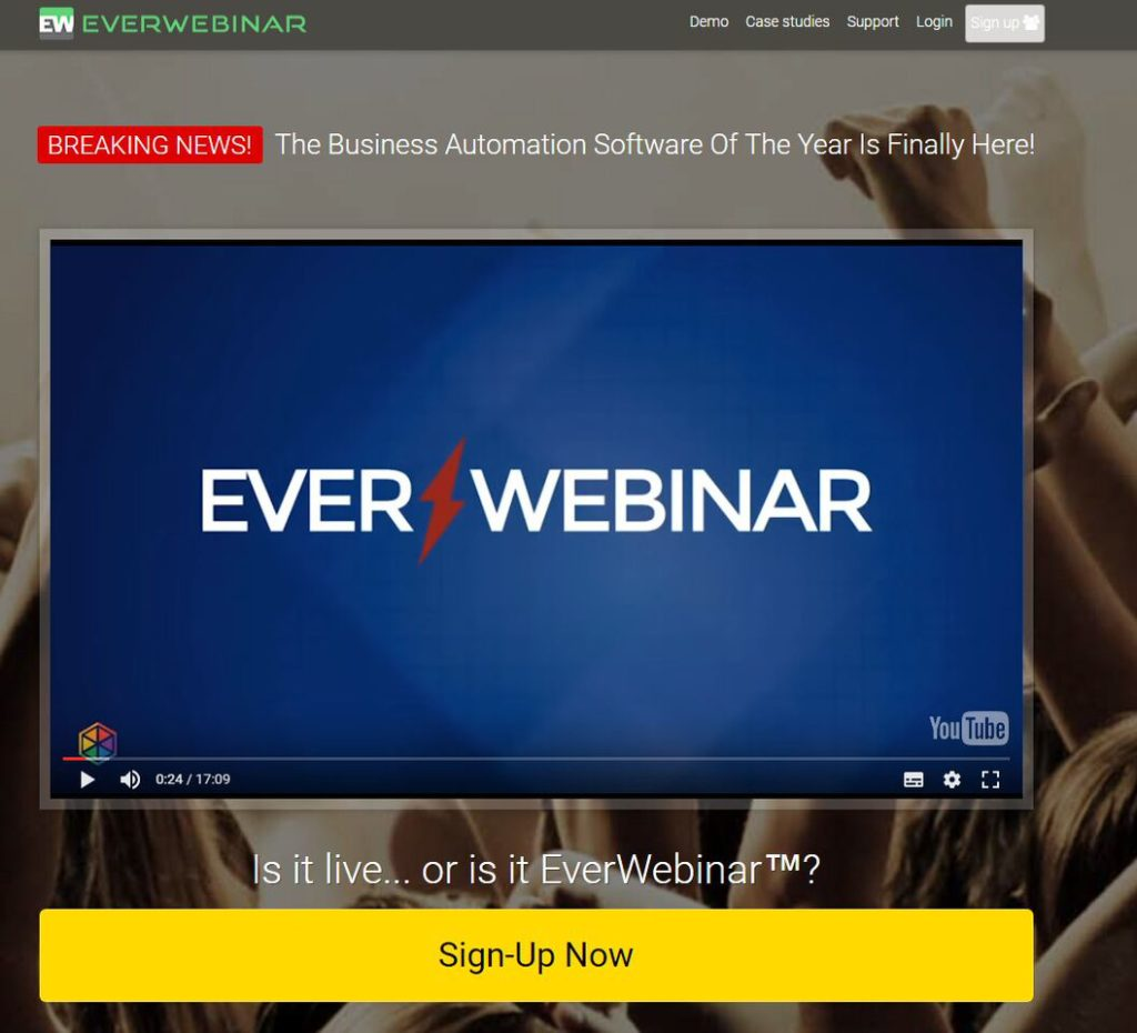 everwebinar evergreen webinar
