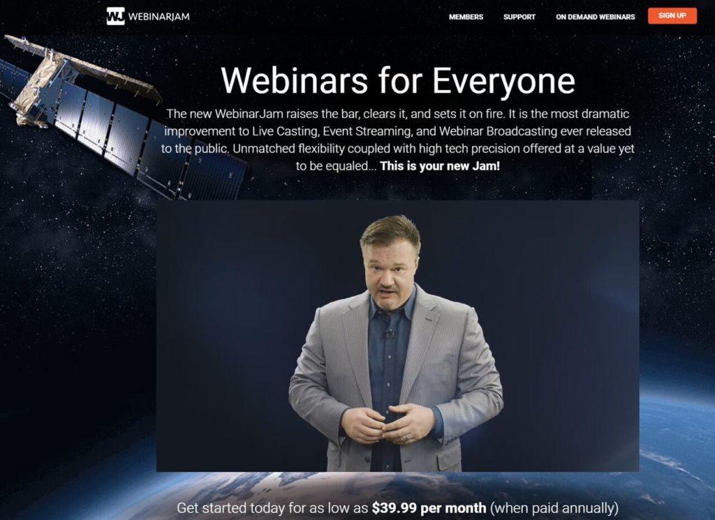 webinarjam webinar service