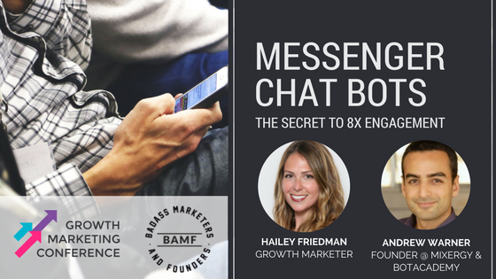How to Build a Chatbot on Facebook Messenger- It's easy Growth Marketing