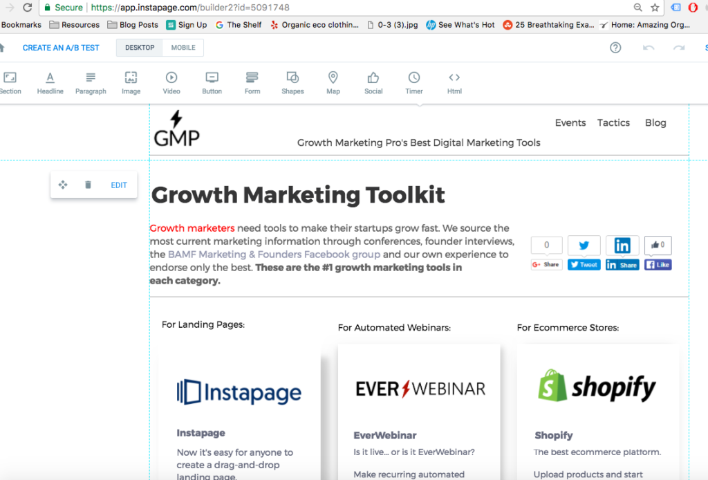 8 Landing Page Designs, Examples and Best Practices that Increase Conversion Rate Growth Marketing