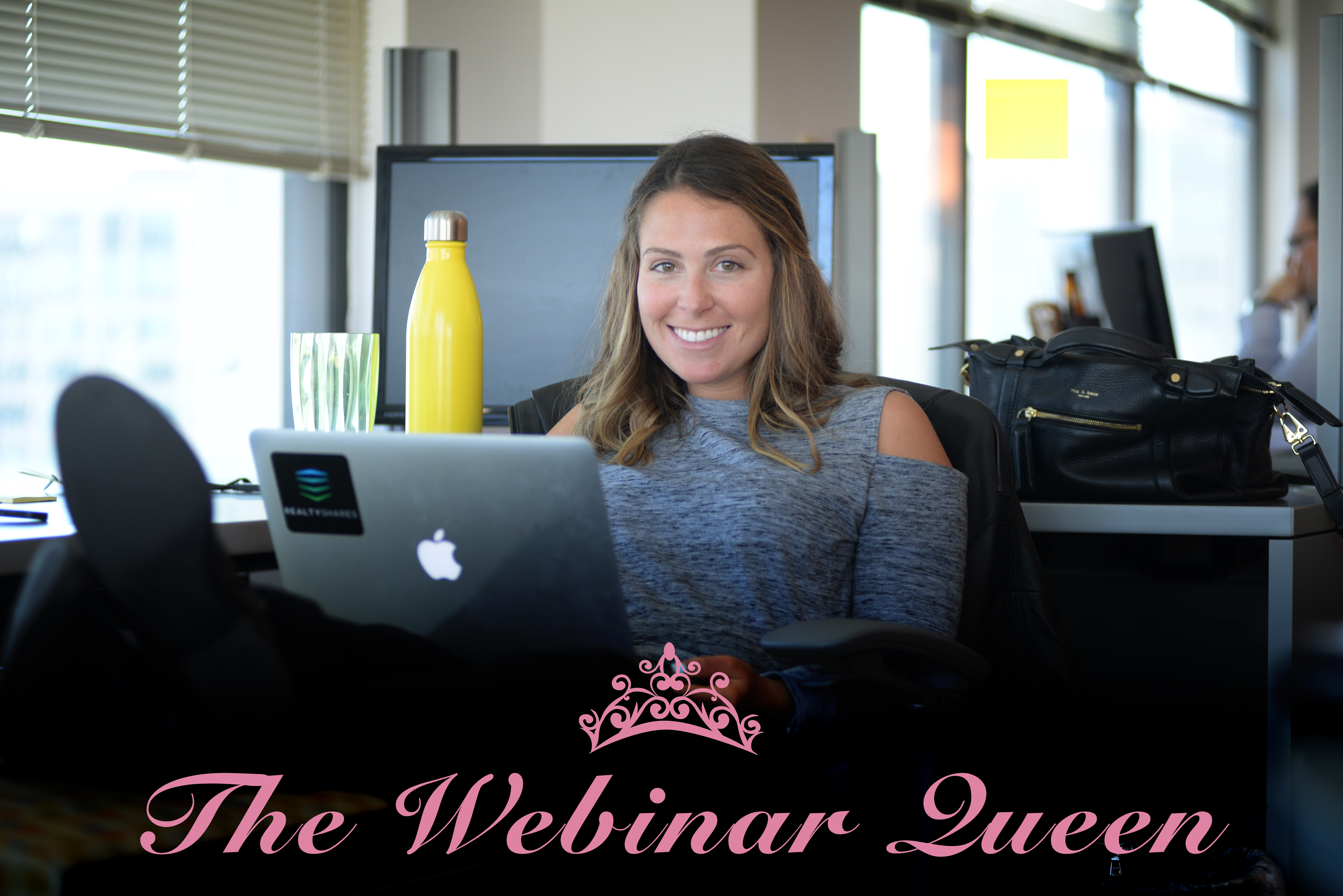 How to create and record a webinar