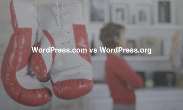 WordPress.com vs WordPress.org.001