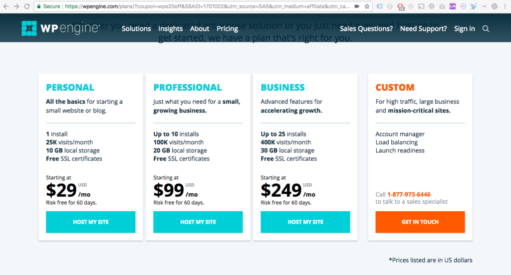 WP Engine Review, Setup and Pricing Growth Marketing How to Start a Blog