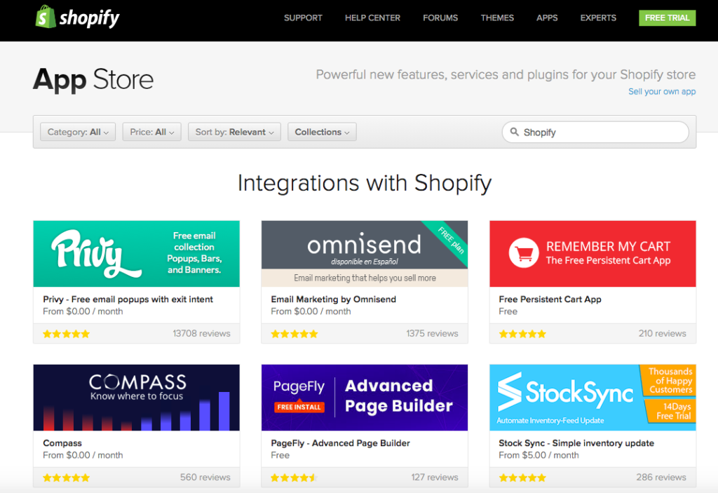 shopify plugins and apps