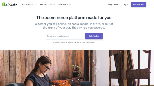 shopify store for ecommerce
