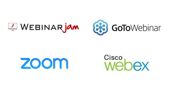 Zoom vs Webex vs GoToWebinar vs Webinarjam