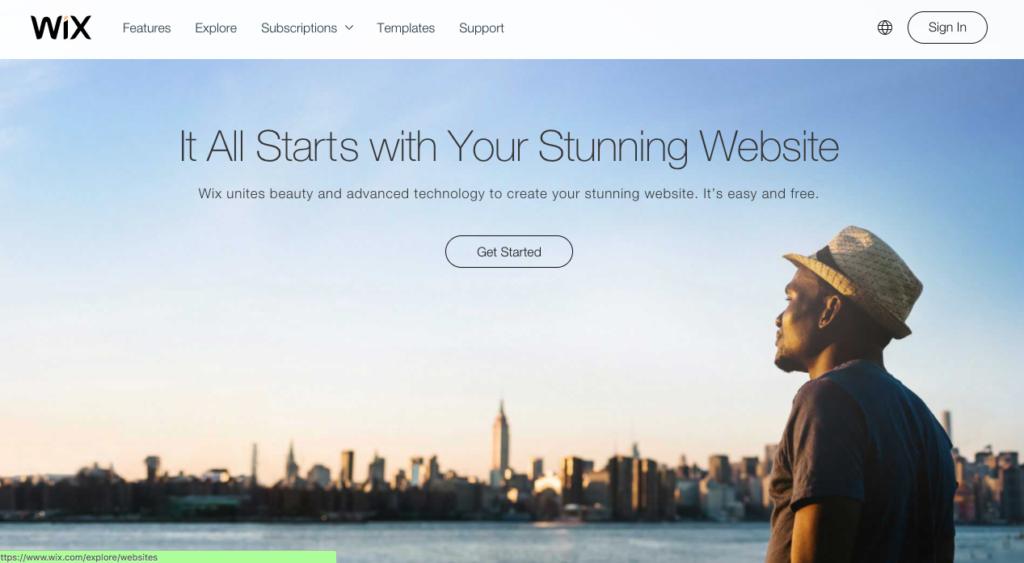 Wix vs Squarespace vs Weebly vs Sitebuilder vs Webflow