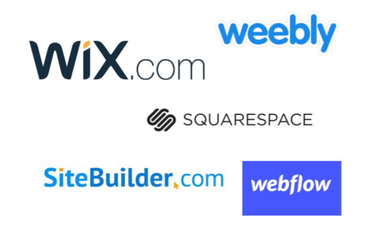 Wix vs Squarespace vs Weebly vs Sitebuilder vs Webflow - Growth