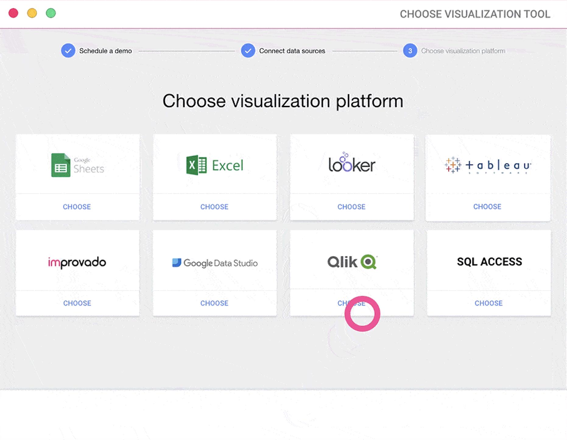 automated marketing data dashboard