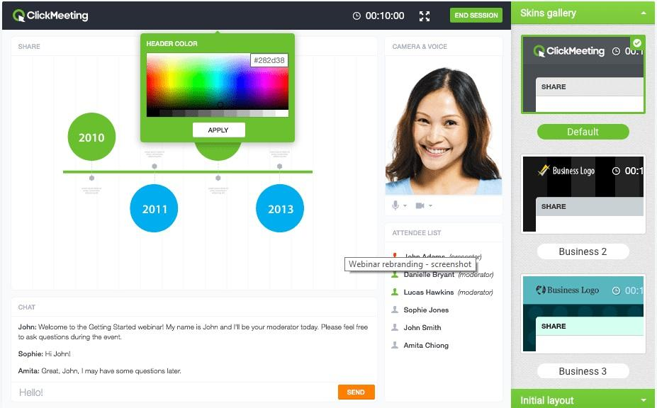 click meeting on-demand webinar