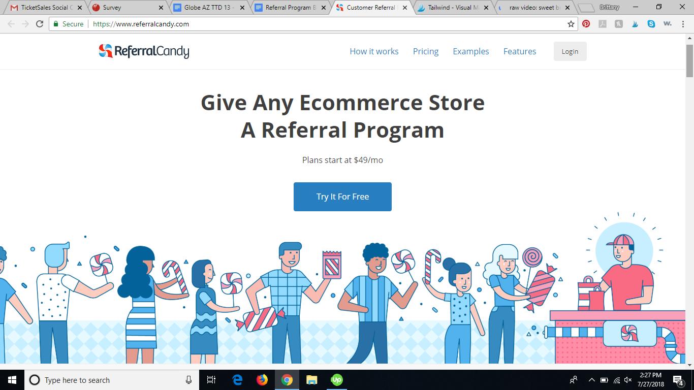 referralcandy referral program software review
