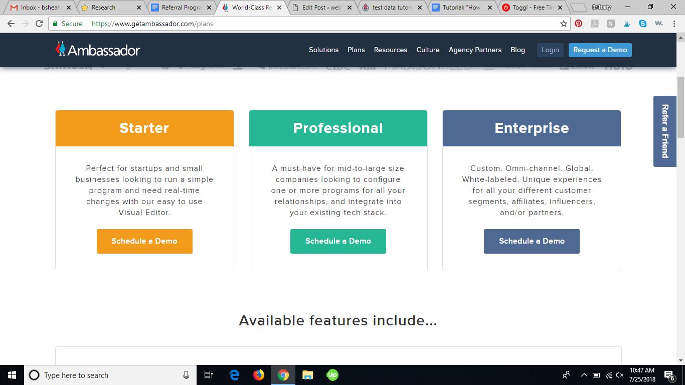 Ambassador referral program software review