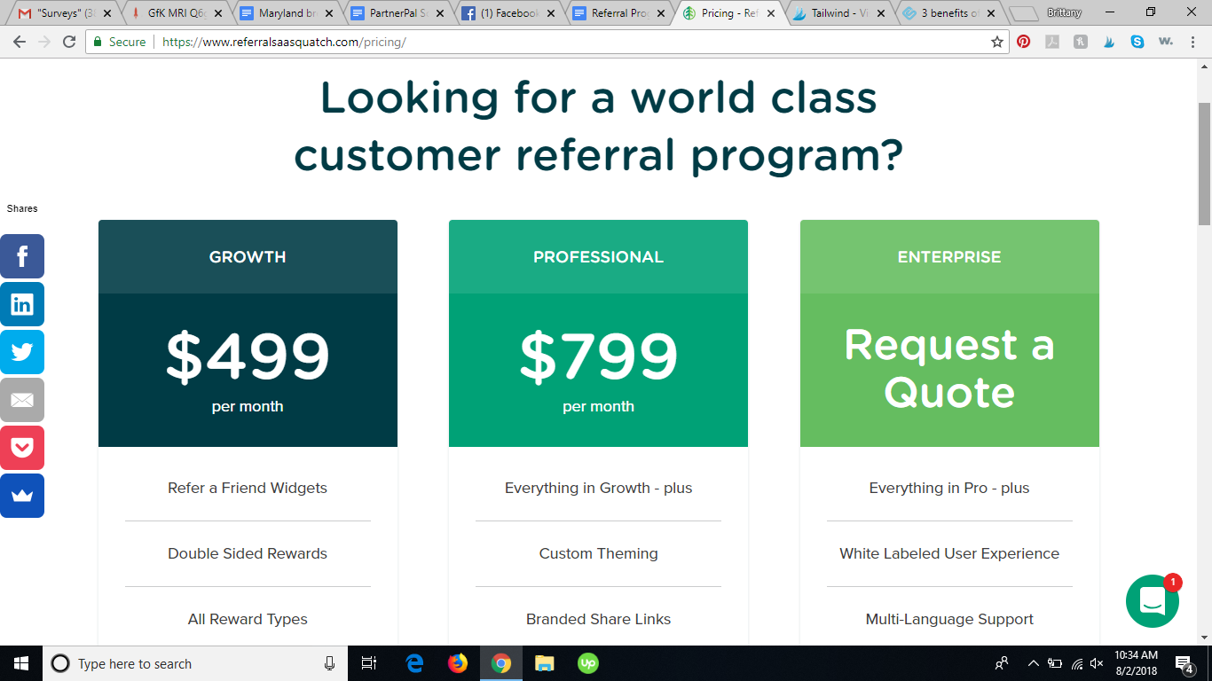 saasquatch referral program software review