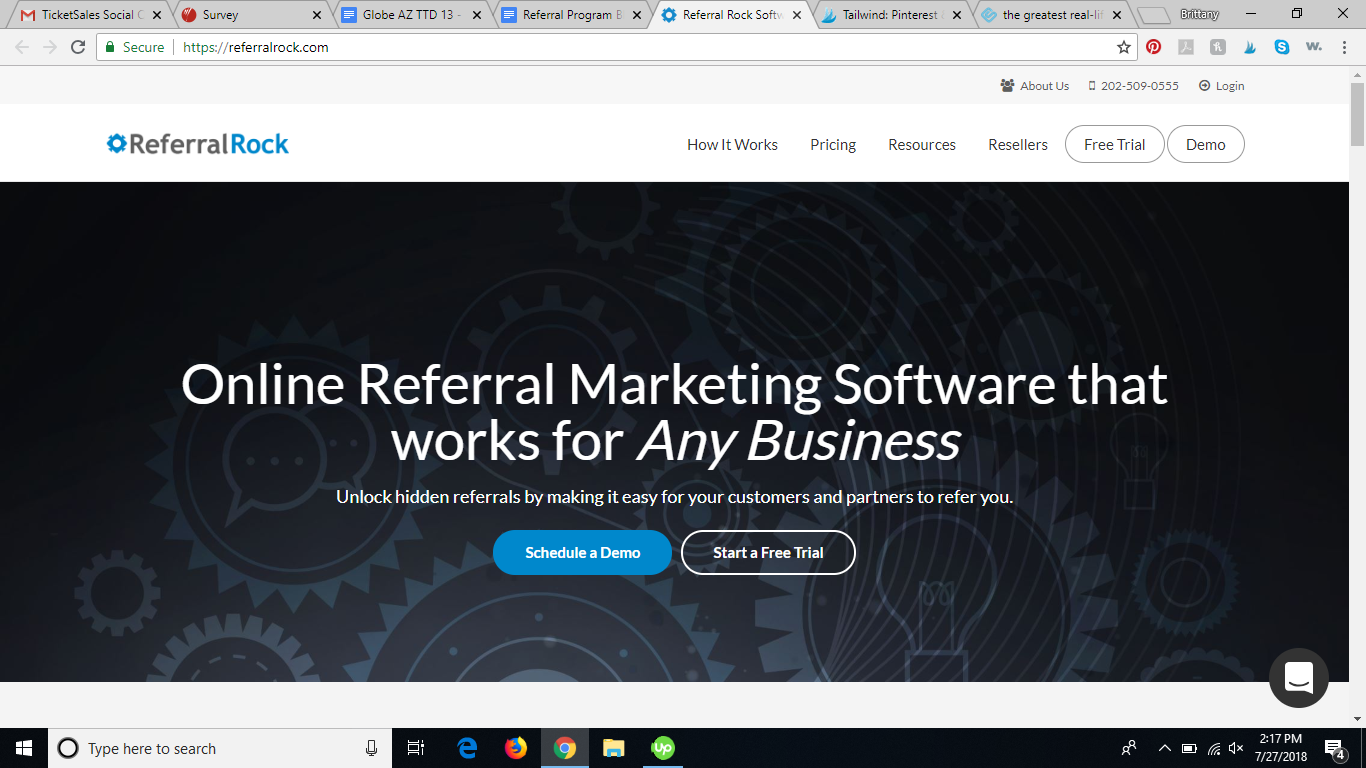 referralrock referral program software review
