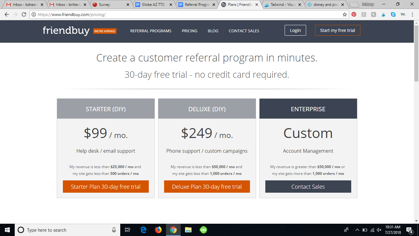 friendbuy referral program software review