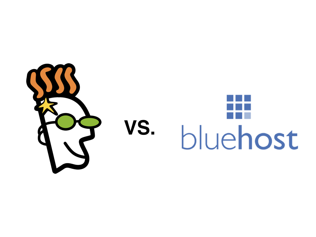 godaddy vs bluehost  which is the best web host