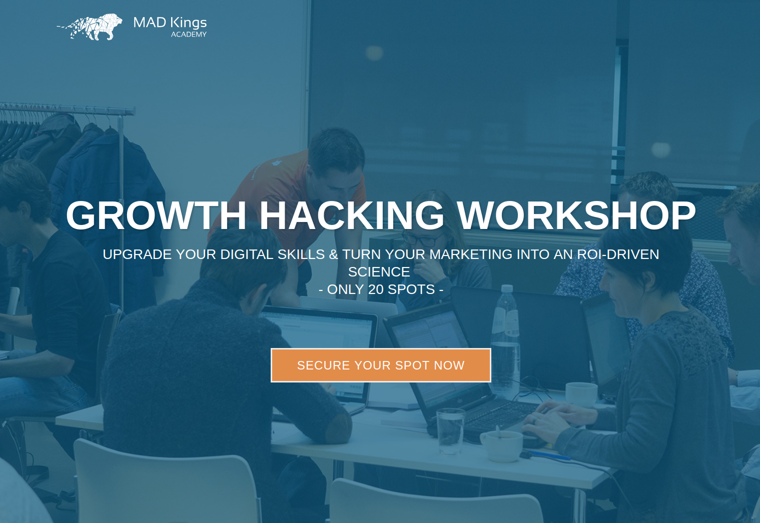 mad kings academy growth hacking workshop