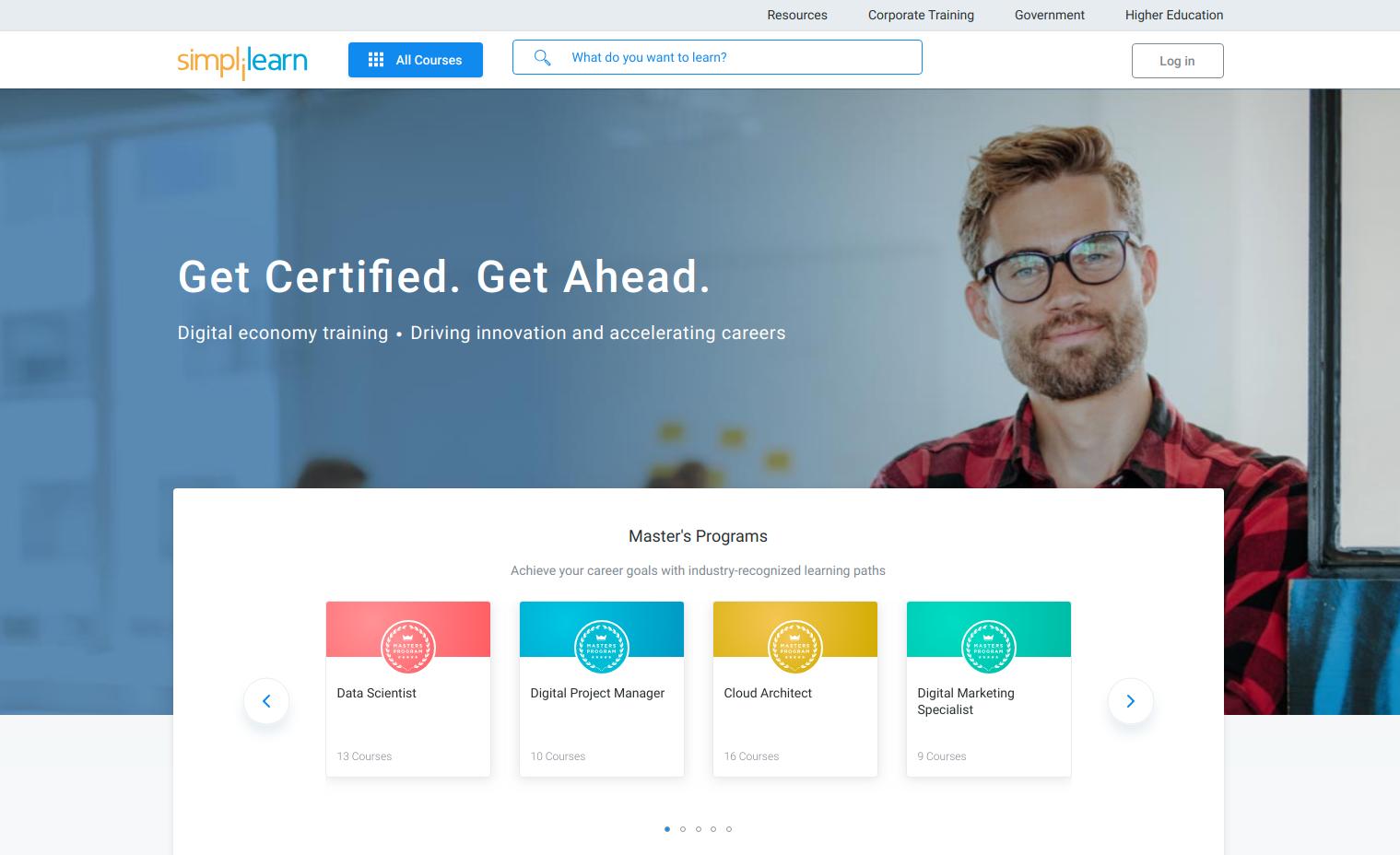 simplilearn Online Digital Marketing Course