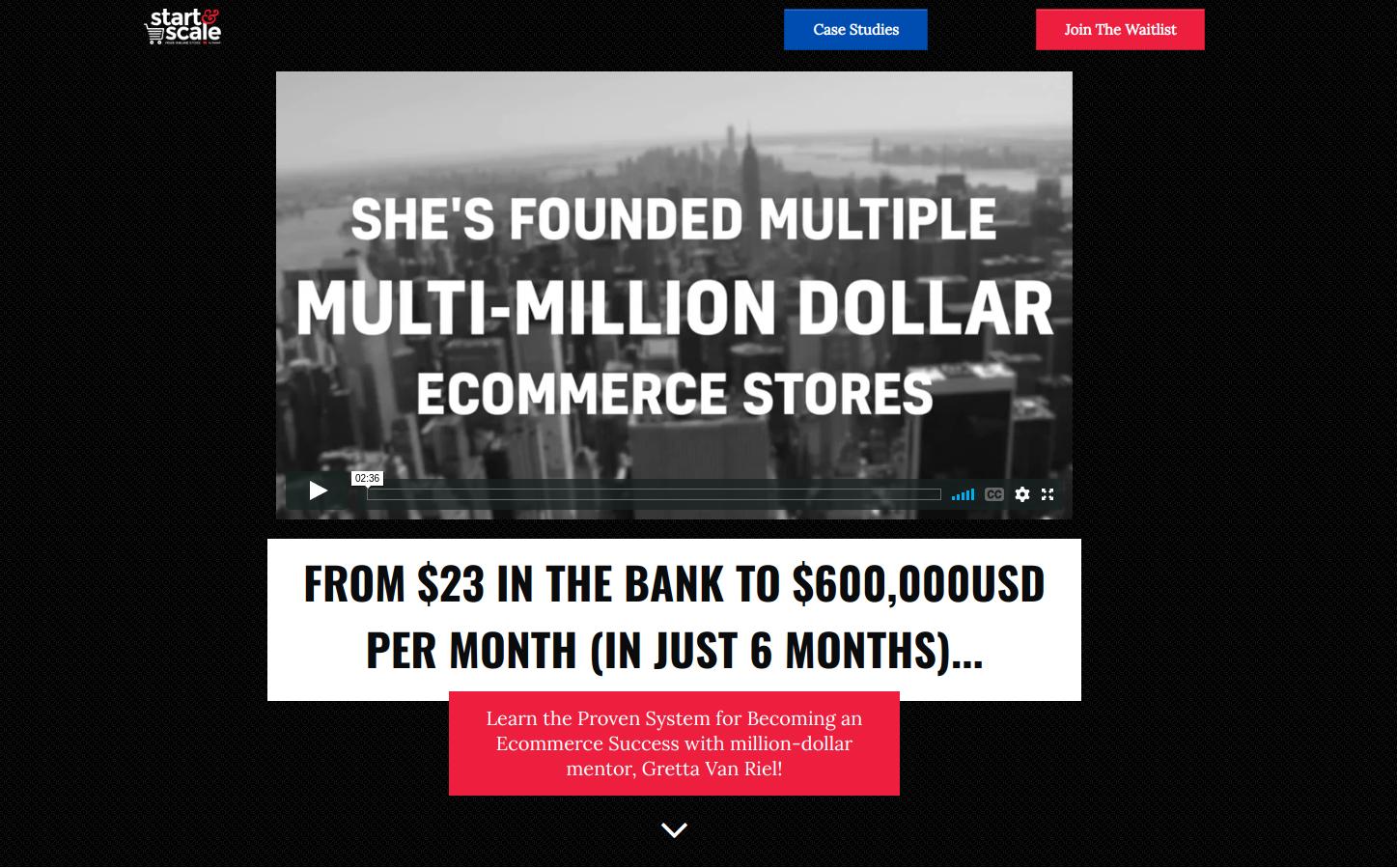 foundr start&scale Online Digital Marketing Course
