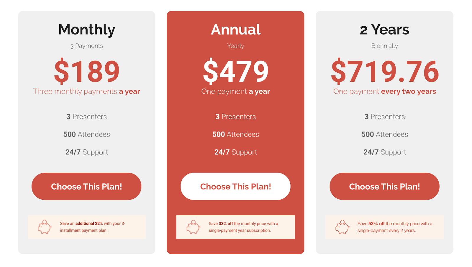 demio vs webinarjam pricing
