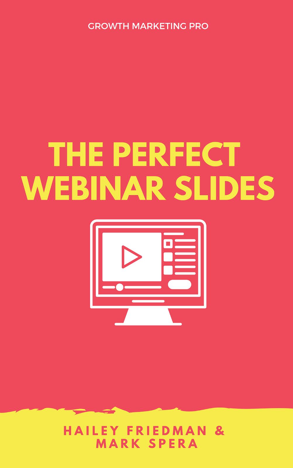 perfect webinar slides powerpoint template deck