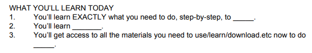 Webinar Script tips