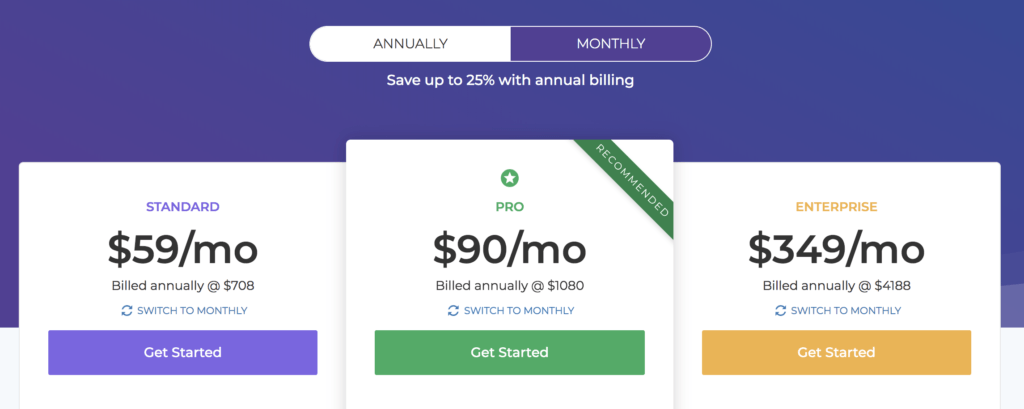 easy webinar pricing