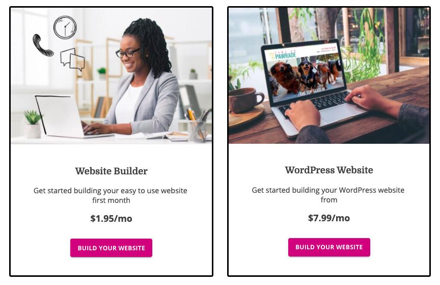Web.com pricing