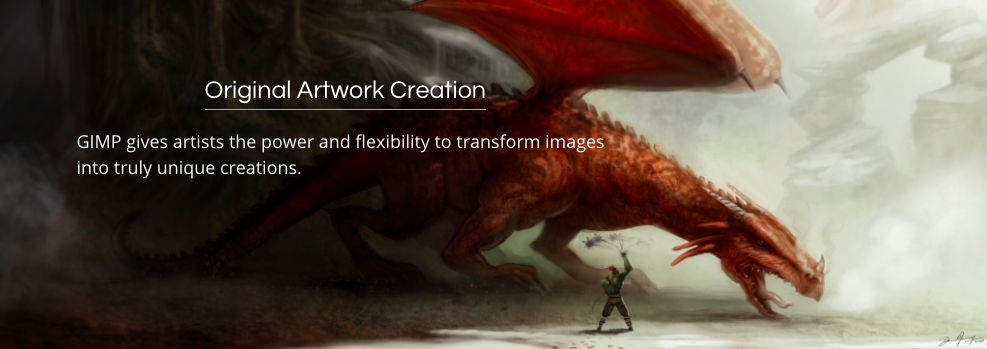 gimp graphic design platform