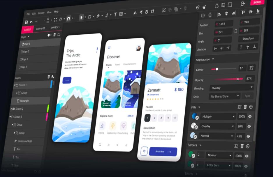 gravit design graphic design software