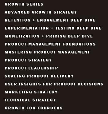 Reforge marketing courses